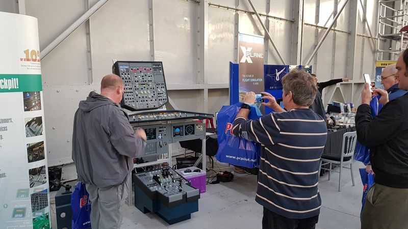 SKALARKI electronics at FlightSim 2016
