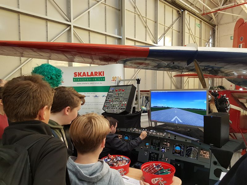 SKALARKI electronics at Flight Sim 2017