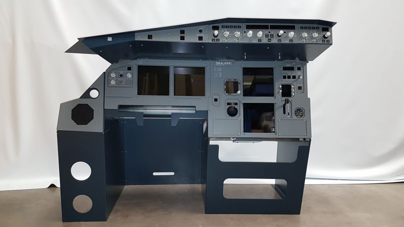 A320 Home Cockpit Parts This Excellent Simulator Includes All Components And Electronic Two New Units Dedicated For Users Complete Mip Glare Section With Lcd Screens The Hardware Check Our Shop Prices